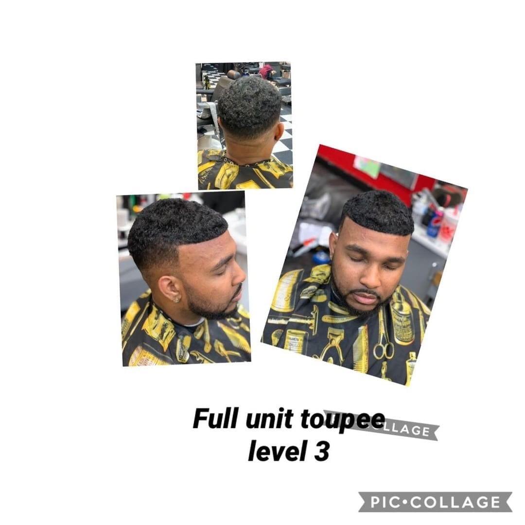 full toupee unit